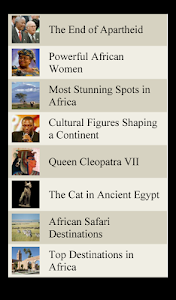 World Travel Lists - AFRICA screenshot 6