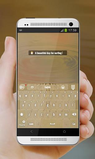 【免費個人化App】衝浪天堂 GO Keyboard-APP點子
