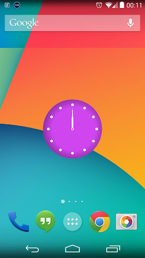 SyncTime Clock Widget
