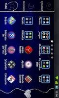 Screenshot of GO Launcher Blue Heart Theme
