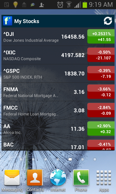 Finance 360- screenshot