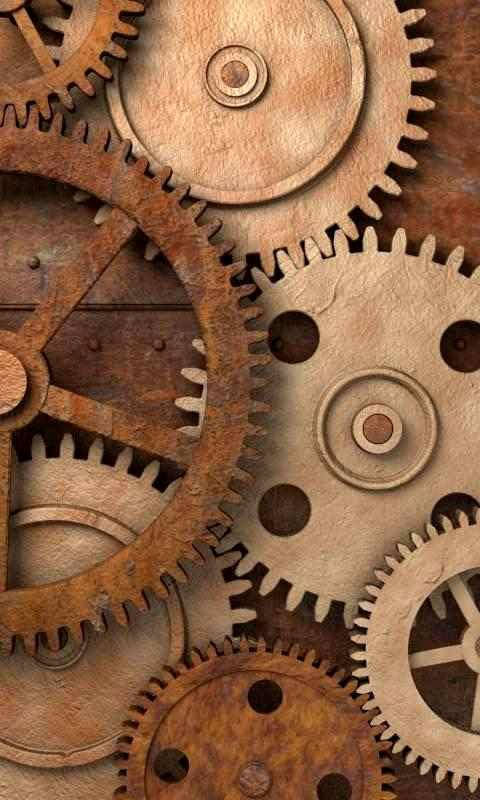 Rusty gears free livewallpaper - screenshot
