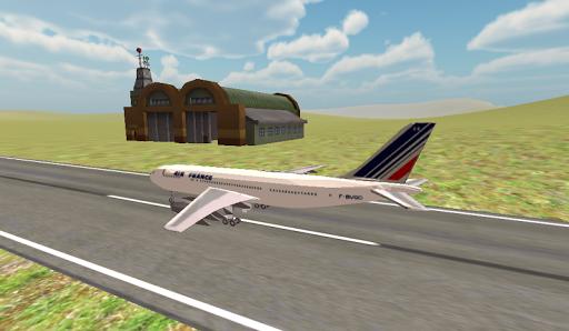 飛機飛行模擬器飛行員3D