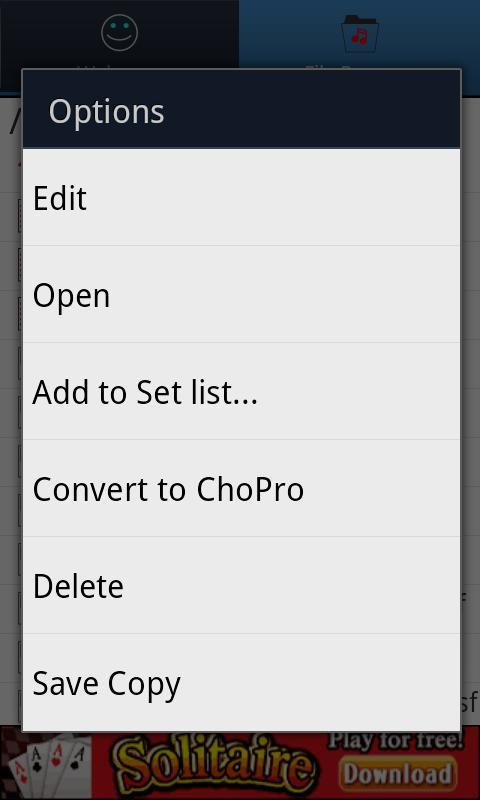 The Chordinator- screenshot