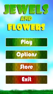 Jewels and Flowers Screenshot 2