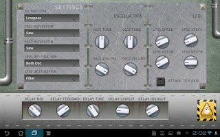 Screenshot of EerieSynth
