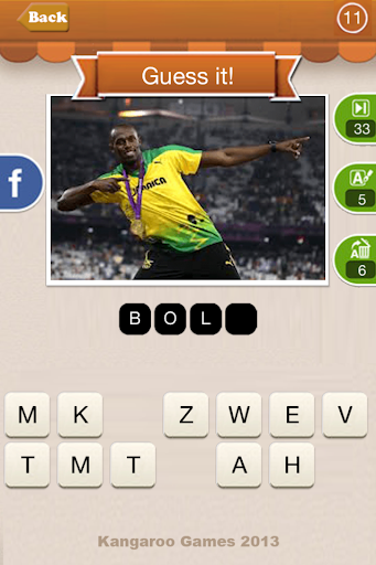 4 Pics 1 Player Sport Quiz