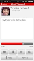 Screenshot of Visual Voicemail Plus