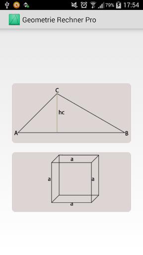Geometrie Rechner Pro