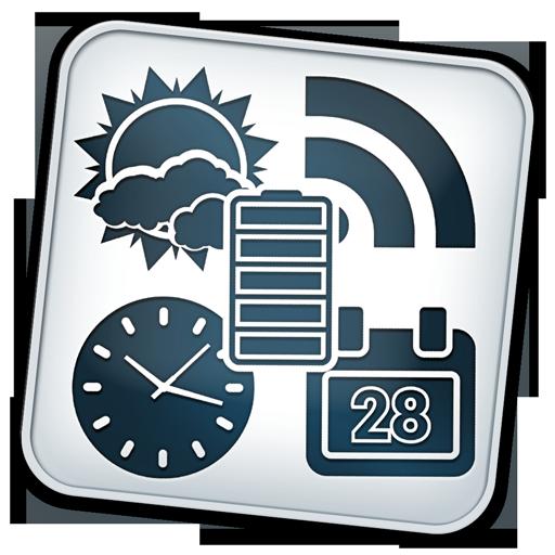 Weather and News Info Widget 天氣 App LOGO-APP開箱王