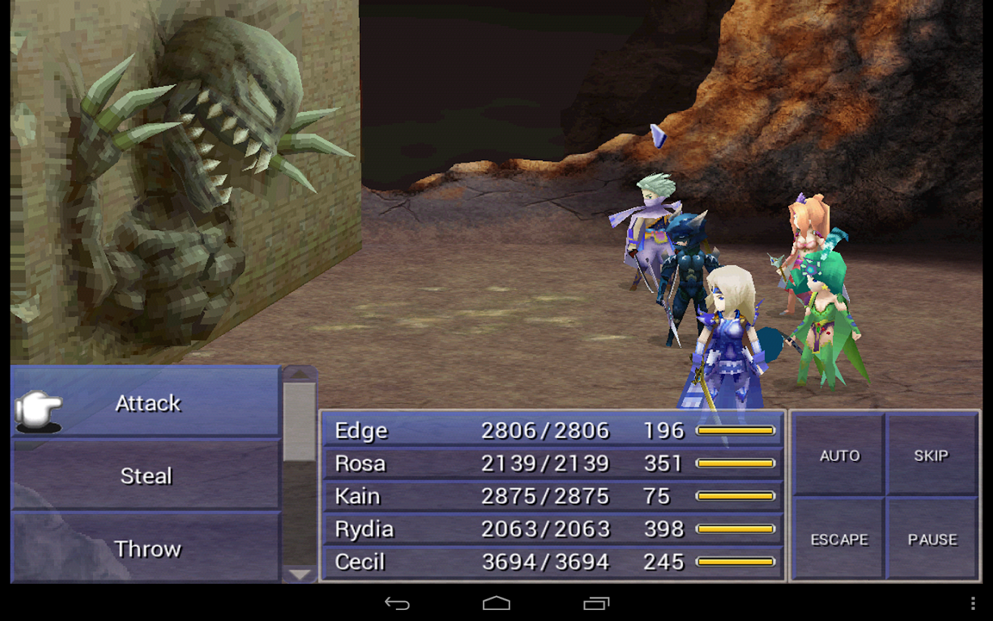 FINAL FANTASY IV- screenshot