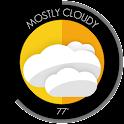 Circle Weather - UCCW Skin icon