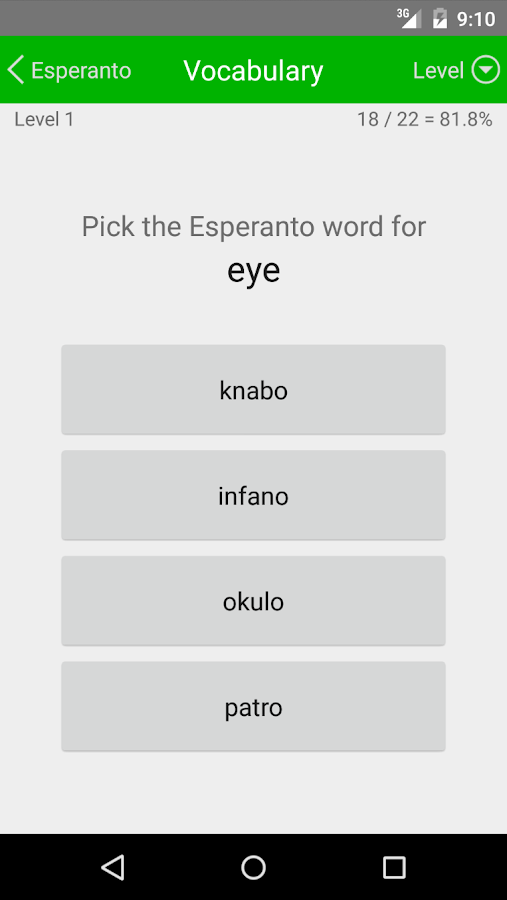 LP Esperanto- screenshot