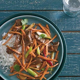 Beef and Sweet Potato Stir-Fry.