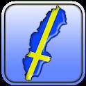 Mapa de Suecia icon