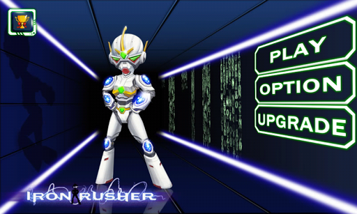 Iron Rusher Robot Bay