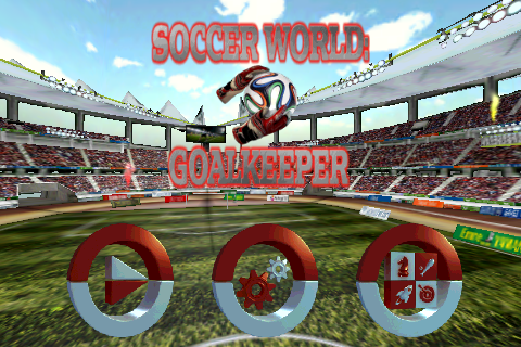 Goalkeeper Soccer World - screenshot