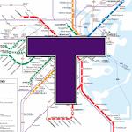 MBTA Boston T Map