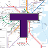 MBTA Boston T Map