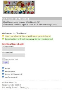 ChatZone Chat - Safe and Best Screenshot