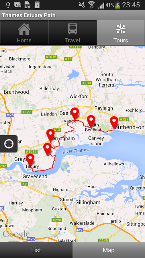 Thames Estuary Path- screenshot