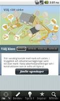 Screenshot of Lätt Mätt