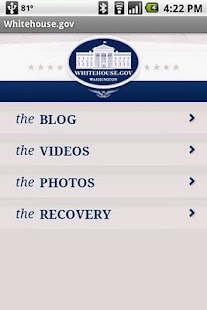 Whitehouse.gov - screenshot thumbnail