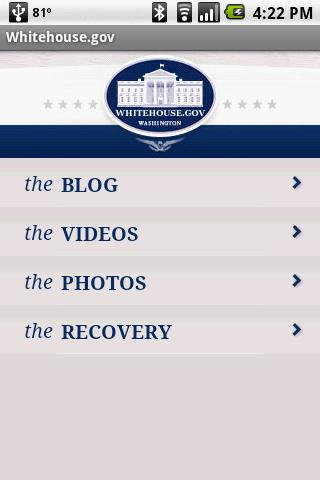 Whitehouse.gov - screenshot