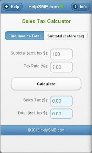 Sales Tax Calculator - USA- screenshot thumbnail