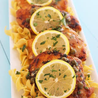 Skinny Lemon Chicken Piccata.