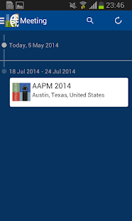 AAPM Annual Meeting - screenshot thumbnail