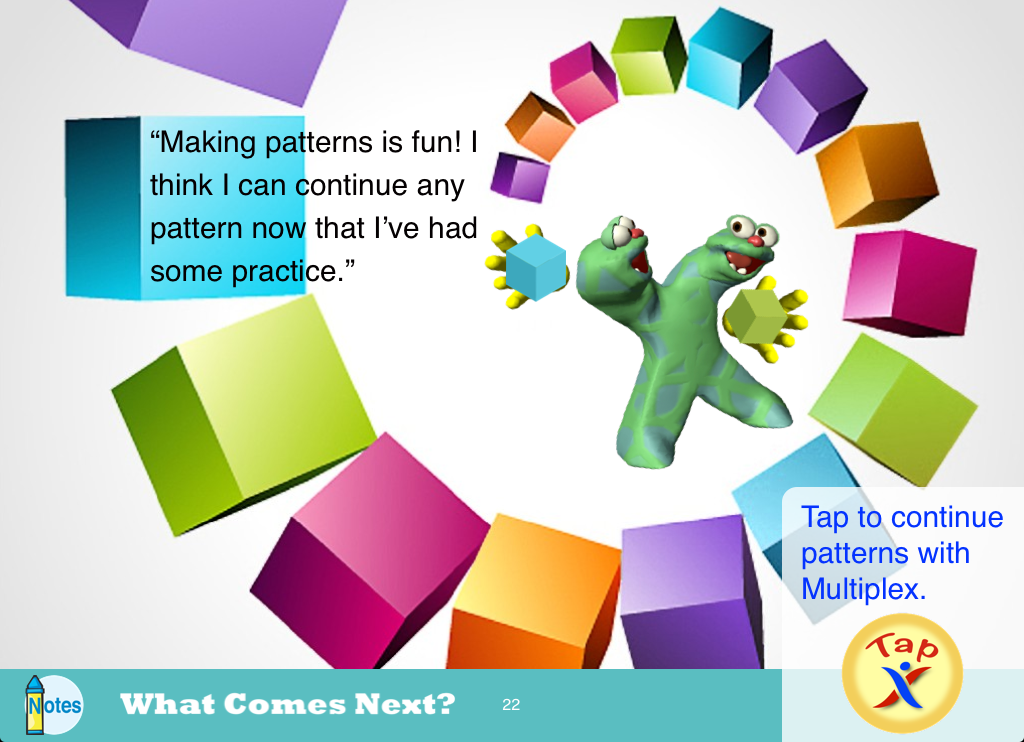 What Comes Next? Patterns - screenshot