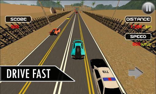 Drag Traffic Racer 3D