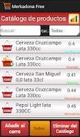 Screenshot of Lista de la compra Merka free