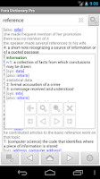 Screenshot of Fora Dictionary Pro