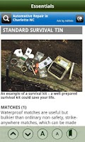 Screenshot of SAS Survival Guide - Lite