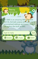 Screenshot of GO SMS PRO ZOO THEME