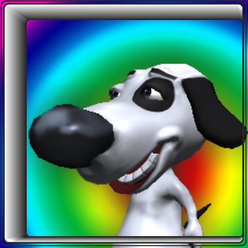 狗跳和跑3D 冒險 App LOGO-硬是要APP