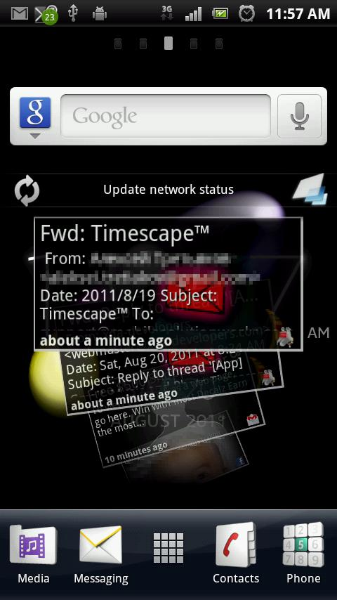 K-9 Mail Timescape™- screenshot
