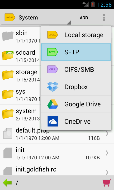 File Organizer - Folder Tag - screenshot
