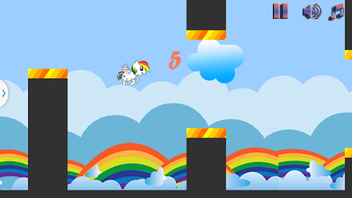 【免費冒險App】Pony Jump Game Free-APP點子