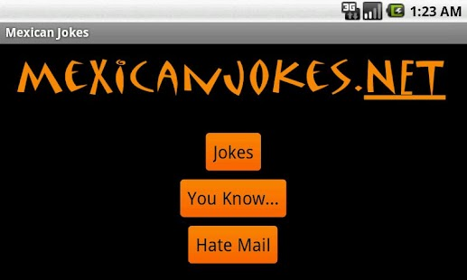 Funny Mexican Jokes- screenshot thumbnail