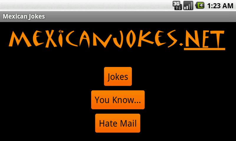 Funny Mexican Jokes - screenshot