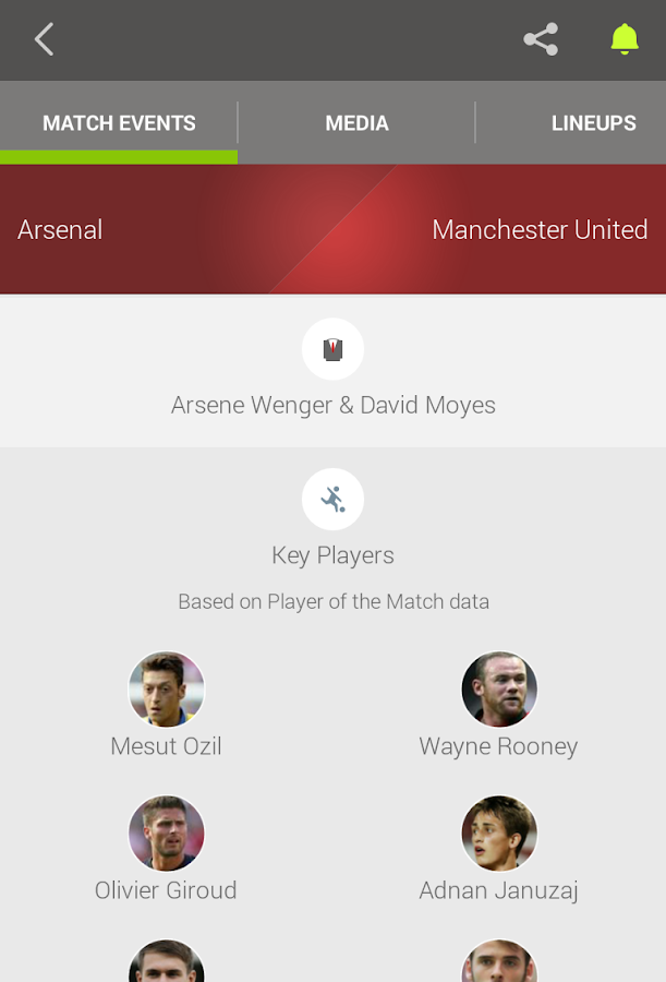 Live Score Addicts - Football - screenshot