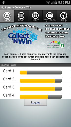 NJ Holiday Collect N Win