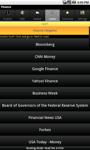 【免費財經App】Global Financial News-APP點子