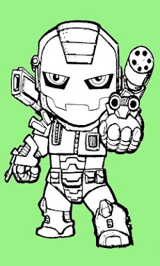 Paint Iron Man HDのおすすめ画像3