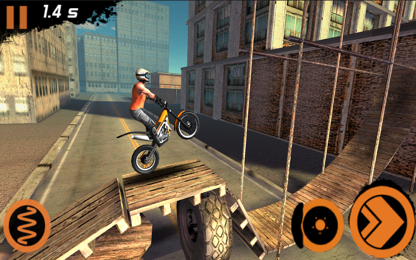 Trial Xtreme 2 Racing Sport 3D - screenshot