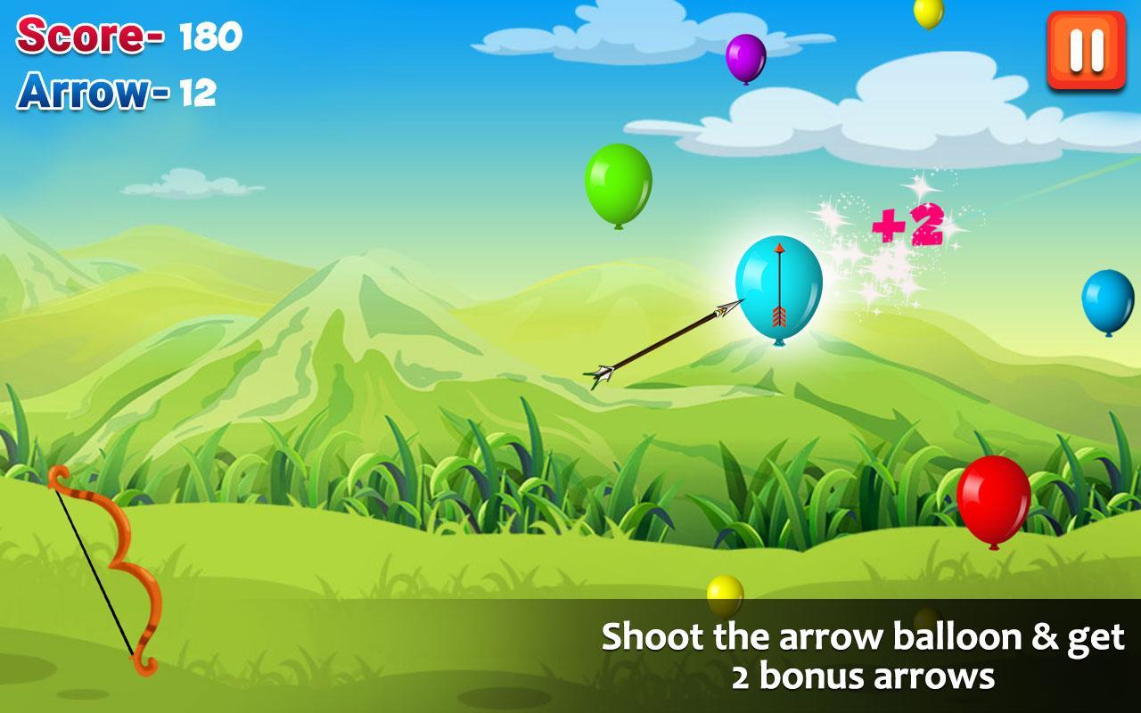 Screenshots of Ballon Shooting for iPhone