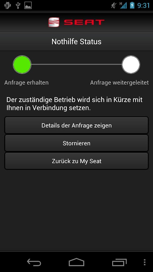 mySEAT +- screenshot